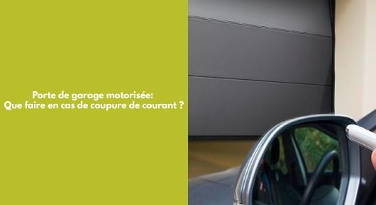 porte de garage à Saint-Etienne